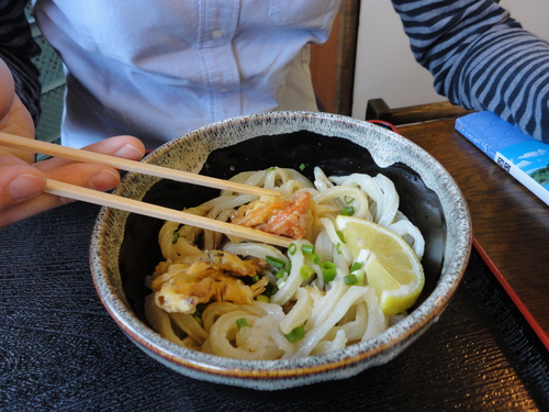 Udon noodles are about the cheapest thing to eat out